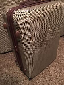 "London Fog 30"" hard shell luggage"