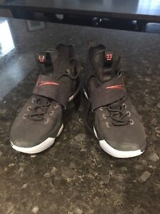 Lebron 14 Black & Red Basketball Shoes
