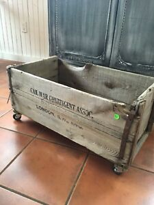 Variety of antique crates, trunks, map & more