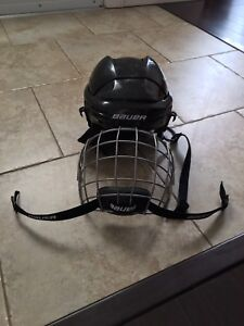 Child's Jr Hockey Helmet and neck guard