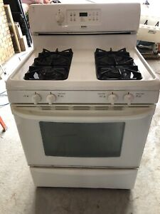 Kenmore gas stove oven