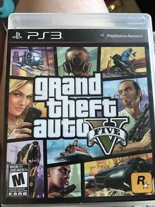 Grand Theft Auto Five PS3 Game