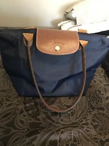 Small Longchamp Pilage in Blue