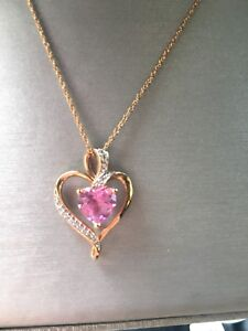 NEW 14k Rose Gold Plated Necklace