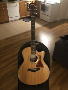Taylor 316ce with original hardcase (fresh elixir strings)