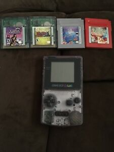 Gameboy color with pokemon red+