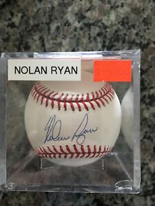 NOLAN RYAN AUTOGRAPH BASEBALL BY PSA WITH COA CGC COMICS TOYS