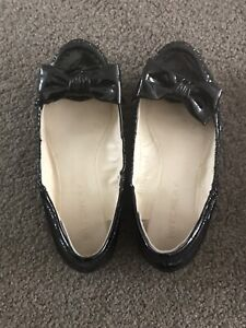 Black Flats with bow (Witchery) - Size 37
