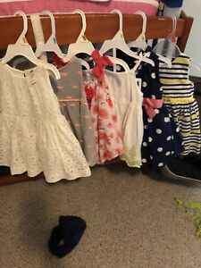 6-12 month girls clothing lot