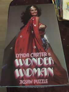 Lynda Carter is Wonder Woman Jigsaw Puzzle