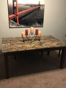 Real marble dining table MINT
