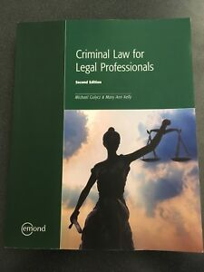Criminal law for legal professionals textbook