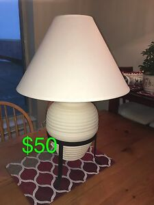 3 Table Lamps (various prices)