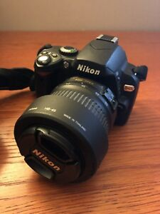 Nikon D40X with 18-55 Lens and Accessories