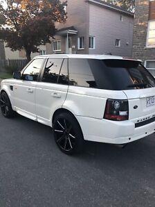 Range Rover supercharger