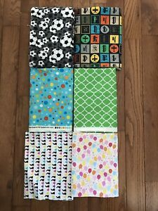 Lot of 6 1 Yard Fabrics