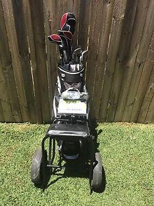 Full set of cougar golf clubs, bag, cart, balls,tees, Dundas Parramatta Area Preview