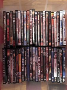 90 DVDs and 3 box sets for $100