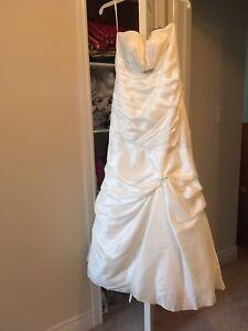 Sweet heart corset back wedding dress