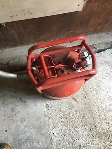 Big red metal jerry can / gas can