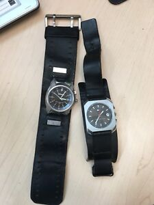 Nixon and Tommy Hilfiger watch