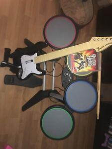 Kit de GuitareHero Ps3