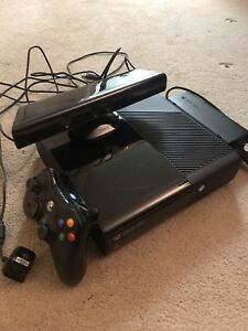 xBox 360 with Kinect for $200 obo