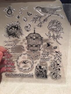 Pattern Silicone Rubber Clear Stamps Scrapbooking Embossing Handcrafts
