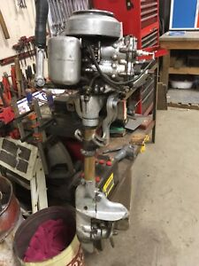 Johnson out broad motor