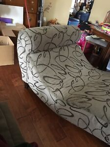 Chaise lounge chair.....great accent to your living space