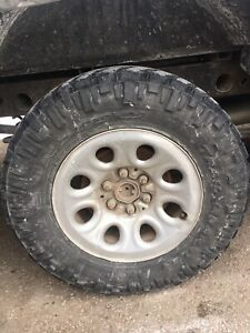 Gm 1500 rims and tires