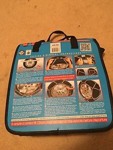 V2 Traction Easy Fit Snow Chains Size KN 80 North Parramatta Parramatta Area Preview