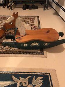 Craft rocking horse