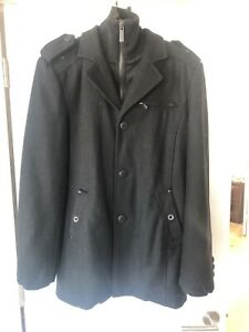 Jack & Jones Men's Winter Jacket - Peacoat - Large