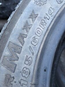 4–P185/60R14 maxxis tires