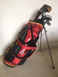 Nike Golf Clubs Left Handed - Taylormade bag