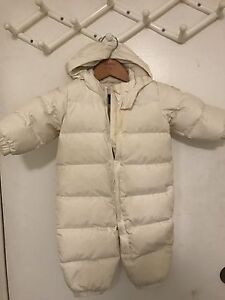 Baby gap winter snow suit - size 6-12