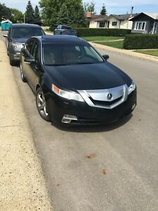 2009 Acura TL SHW-AWD tech package