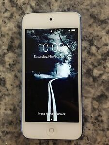 Blue iPod touch 6th gen 32 gb