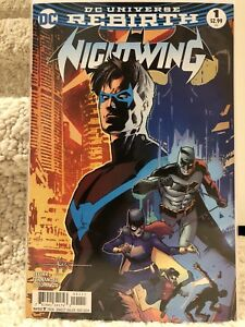 Nightwing Rebirth Regular Cover #1