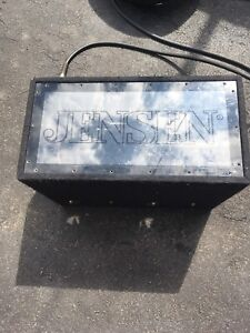 JENSEN subwoofer enclosure