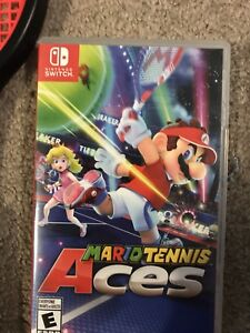 Mario tennis nitendo switch and rackets