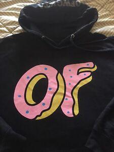 Of  odd future donut logo hoodie large men's