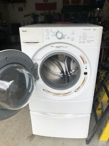 Kenmore front load washer for parts or pedestal