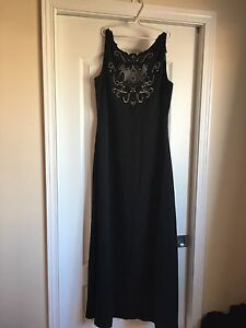 Beautiful black gown