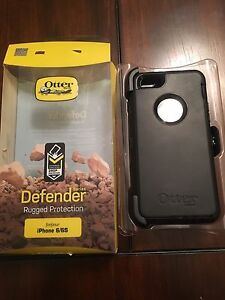 New in Box Black Otterbox Defender Series for iphone 6/6s