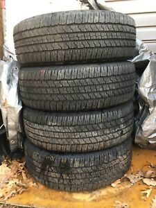Goodyear wrangler tires like new 265/70R17