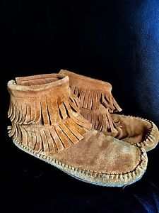 Soft moc Moccasins- size 9 and more