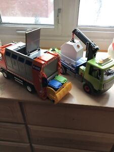 Recyclage camion playmobil