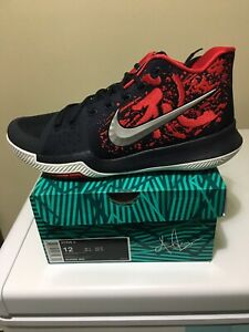 "Nike Kyrie 3's ""Samurai"" for sale $250!!! Size 12 DS"
